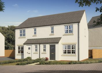 "Thumbnail 3 bed semi-detached house for sale in ""The Hanbury"" at Bishops Hull Road, Bishops Hull, Taunton"
