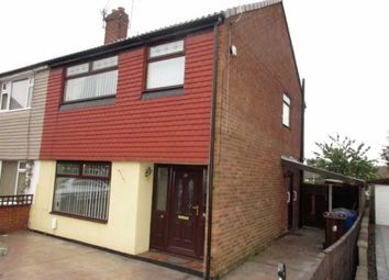 Thumbnail 3 bed semi-detached house for sale in Canterbury Close, Atherton, Manchester