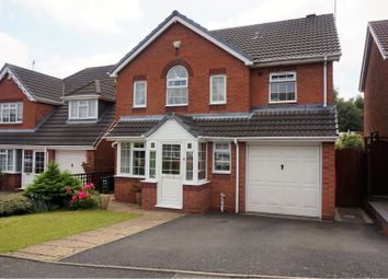 Thumbnail 4 bed detached house for sale in Winchcombe Close, Dudley