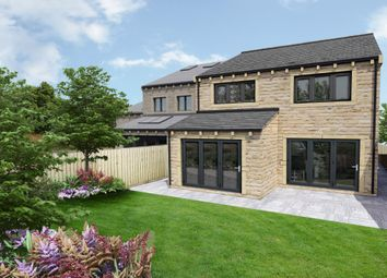 Thumbnail 4 bed detached house for sale in Mill Moor Road, Meltham, Holmfirth