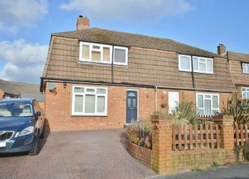 Thumbnail 3 bedroom semi-detached house for sale in Nappers Wood, Fernhurst, Haslemere
