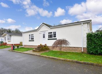 Thumbnail 2 bedroom mobile/park home for sale in Dover Road, Barham, Canterbury, Kent