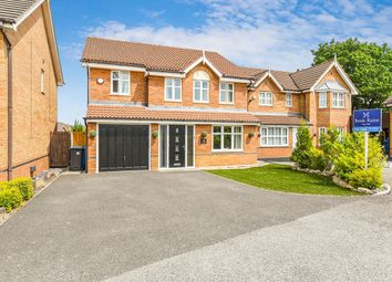 Thumbnail 4 bed detached house for sale in Beckenham Close, Widnes
