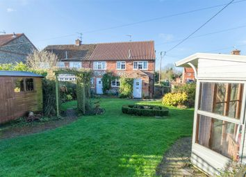 Thumbnail 4 bed semi-detached house for sale in Dodma Road, Weasenham, King's Lynn