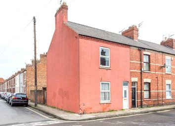 Thumbnail 3 bedroom end terrace house for sale in Shipton Street, York
