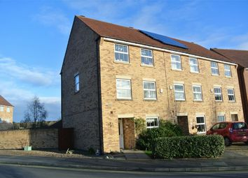 Thumbnail 4 bed end terrace house for sale in Tarragon Way, Bourne, Lincolnshire
