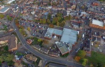 Thumbnail Commercial property for sale in 1 - 6 Eaton Walk, Rushden, Northamptonshire