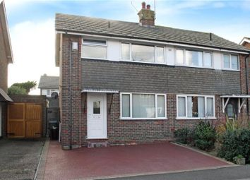 Thumbnail 3 bed semi-detached house for sale in Shaftesbury Road, Rustington, Littlehampton