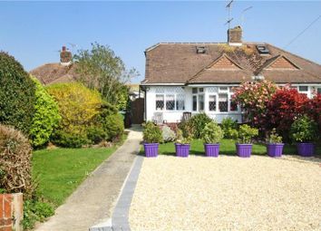 Thumbnail 2 bed semi-detached bungalow for sale in Chaucer Avenue, Rustington, Littlehampton
