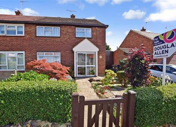 Thumbnail 3 bed semi-detached house for sale in Shaftesbury Road, Epping, Essex