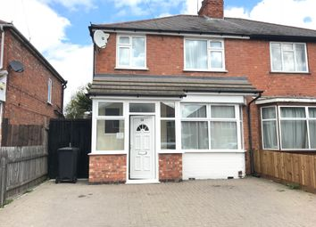 Thumbnail 3 bed semi-detached house to rent in Collingham Road, Leicester