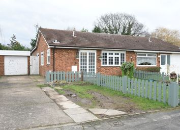 Thumbnail 4 bed semi-detached bungalow for sale in Lyndhurst Way, Chertsey, Surrey