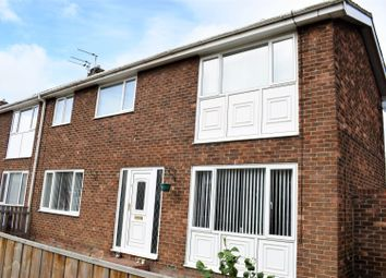 Thumbnail 3 bed terraced house for sale in Suffolk Close, Ashington