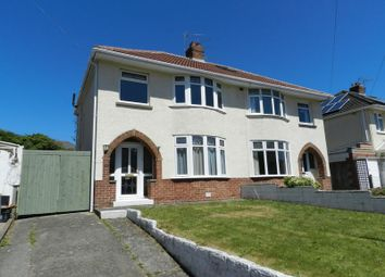 Thumbnail 3 bed semi-detached house for sale in Fairfield Road, Bridgend