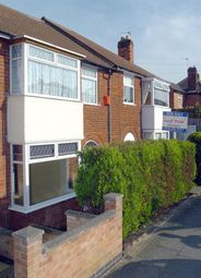 Thumbnail 3 bed town house to rent in Percy Road, Aylestone, Leicester