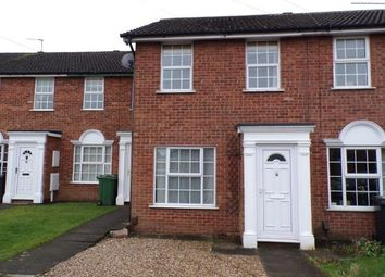 Thumbnail 2 bed terraced house for sale in Chatsworth Drive, Syston, Leicester, Leicestershire