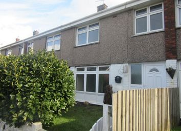 Thumbnail 3 bed terraced house to rent in Heol Awstin, Ravenhill, Swansea.