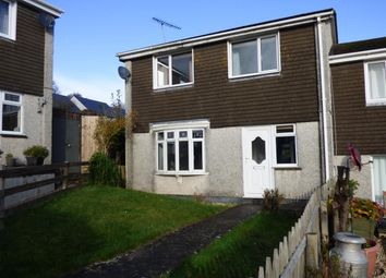 Thumbnail 3 bed end terrace house to rent in Fawns Close, Ermington, Ivybridge
