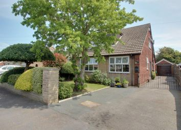 Thumbnail 3 bed semi-detached bungalow for sale in The Parkway, Snaith, Goole
