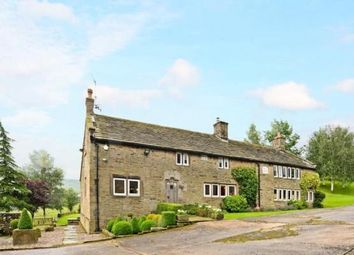 Thumbnail 5 bed detached house for sale in Higher Chisworth, Chisworth, Glossop