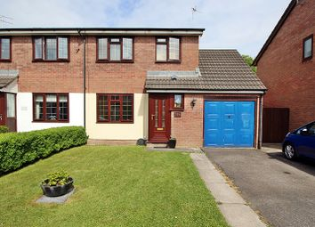 Thumbnail 3 bed semi-detached house for sale in Ynysddu, Pontyclun, Rhondda, Cynon, Taff.