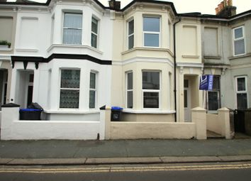 Thumbnail 3 bed terraced house to rent in Clifton Road, Worthing