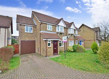 Thumbnail 4 bed semi-detached house for sale in Bignor Close, Horsham, West Sussex