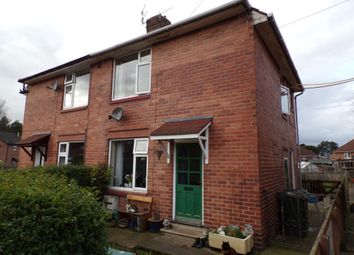 Thumbnail 2 bed semi-detached house for sale in Chirdon Crescent, Hexham