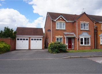 Thumbnail 4 bedroom detached house for sale in Millers Walk, Walsall