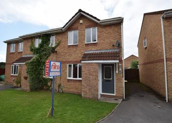 Thumbnail 2 bed semi-detached house for sale in Bramble Avenue, Barry