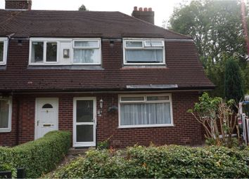 Thumbnail 3 bed end terrace house for sale in Broadoak Road, Manchester