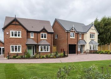 Thumbnail 4 bed detached house for sale in Off Shrewsbury Road, Bomere Heath, Shrewsbury