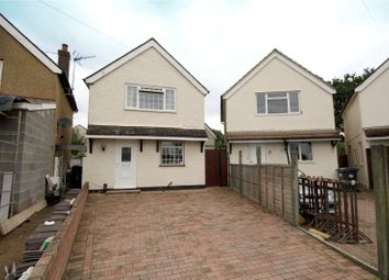 Thumbnail 3 bed detached house for sale in Derwent Close, Addlestone, Surrey