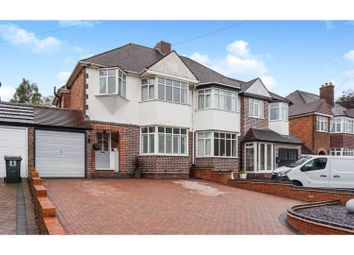 Thumbnail 3 bed semi-detached house for sale in Bakers Lane, Sutton Coldfield