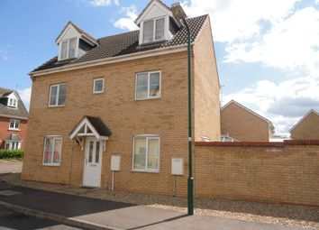 Thumbnail 4 bed detached house to rent in Vokes Street, Peterborough