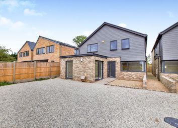 Thumbnail 4 bed detached house for sale in Downs Road, Winchester