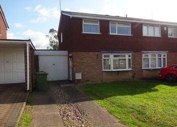 Thumbnail 3 bed property to rent in Tenbury Close, Bentley, Walsall