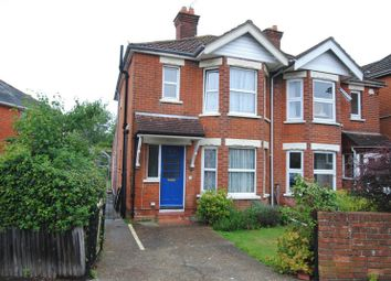 Thumbnail 3 bedroom semi-detached house for sale in St. Catherines Road, Southampton