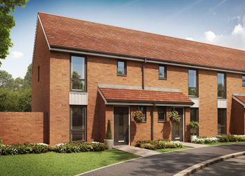 "Thumbnail 2 bed semi-detached house for sale in ""The Hanbury "" at Old Oak Way, Harlow"
