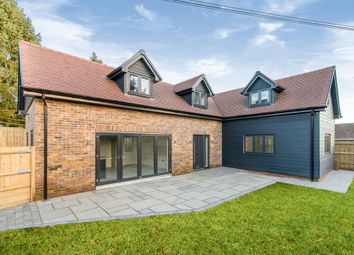 Thumbnail 3 bedroom detached house for sale in Church Road, North Waltham, Basingstoke