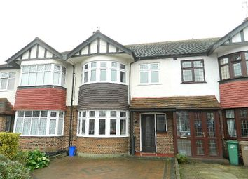 Thumbnail 3 bed terraced house to rent in Priory Avenue, North Cheam, Sutton