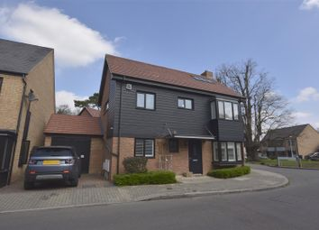 Thumbnail 4 bed detached house for sale in Hawley Drive, Leybourne, West Malling