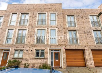Thumbnail 4 bed terraced house for sale in Corner Mead, London