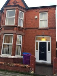 Thumbnail 5 bed terraced house to rent in Elmswood Court, Palmerston Road, Mossley Hill, Liverpool