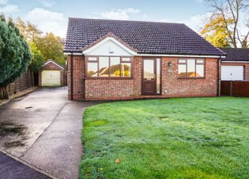 Thumbnail 2 bed detached bungalow for sale in Newbolt Close, Caistor