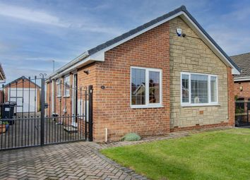 Thumbnail 2 bed detached bungalow for sale in Salcombe Grove, Bawtry, Doncaster
