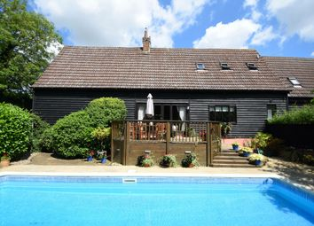 Thumbnail 4 bed barn conversion for sale in Little Stonham, Stowmarket, Suffolk