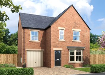 Thumbnail 4 bed detached house for sale in Greysfield, Backworth Park, Backworth