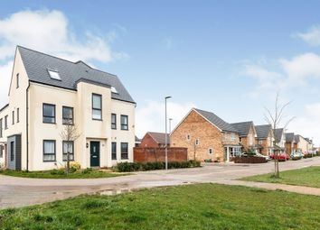 Thumbnail 4 bed town house for sale in Mauretania Way, Brooklands, Milton Keynes