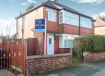 Thumbnail 2 bed semi-detached house to rent in Long Street, Abbey Hey, Manchester